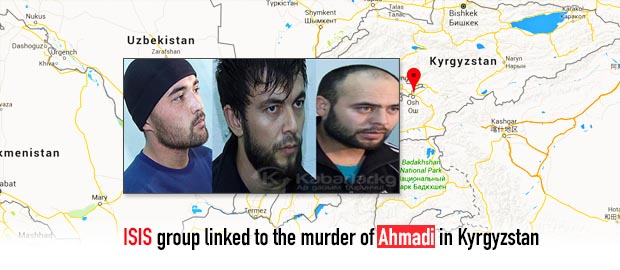 ISIS allied group connected to the murder of Ahmadi in Kyrgyzstan
