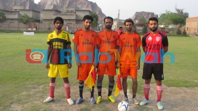 All Rabwah Football tournament started with a draw