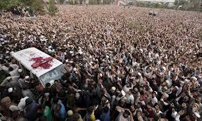 Mumtaz Qadri buried in the presence of Thousands