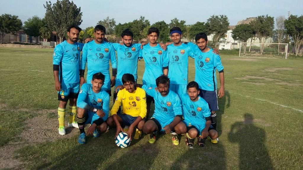 Opening ceremony of Fazal E Umar Soccer league will be held tomorrow