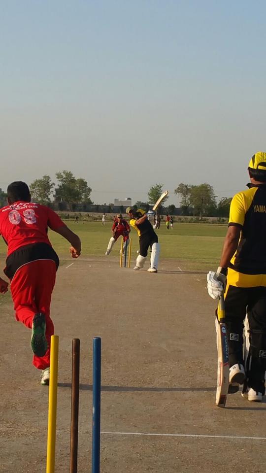 Yaman Block has reached in the final of All Rabwah Masroor hard ball cricket championship