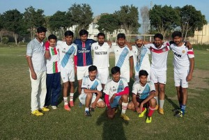 Yaman Sharqi reaches in the final of the All Rabwah Block vise football tournament
