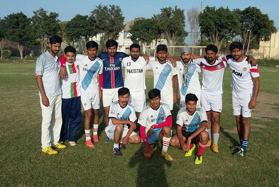 The final of All Rabwah Block vise football tournament will be played today