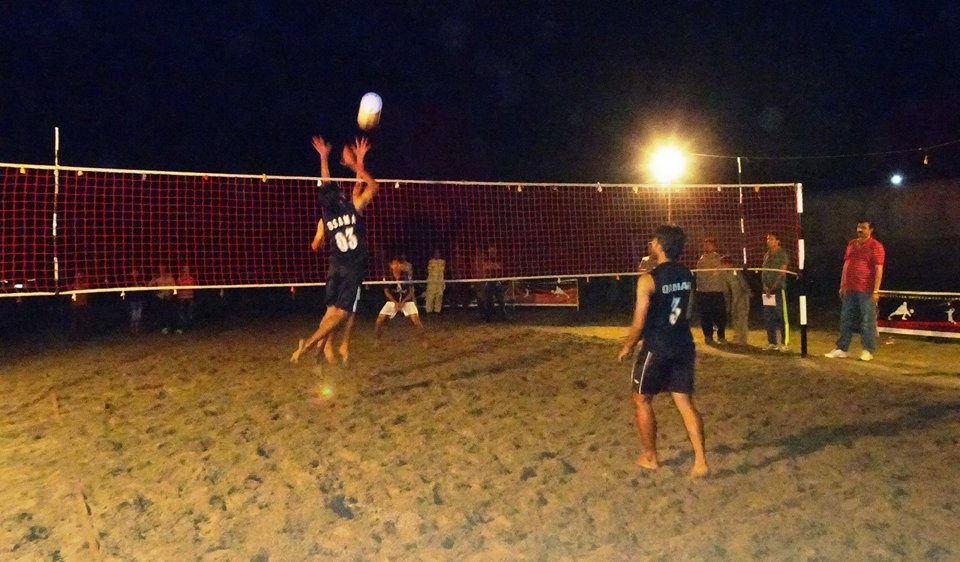 All Rabwah beach volleyball tournament