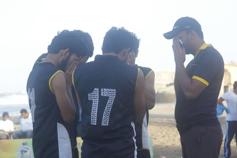 All Pakistan beach volleyball tournament
