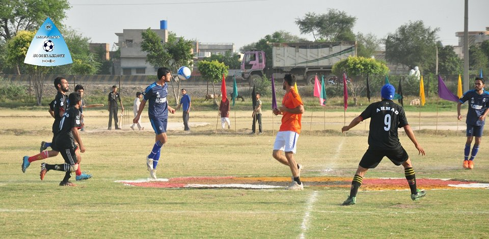 Noor Fc Beats Mehmood Fc in the match 5 of Fazal E Umar soccer league