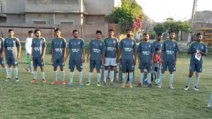 Fazal E Umar Soccer League;  FC Nasir and Tahir Soccer club finished in 0-0 draw