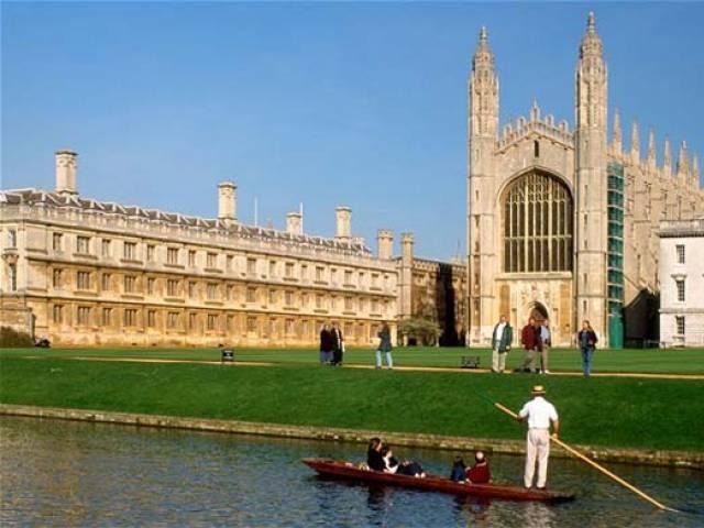 Cambridge University have chosen three Pakistani students for scholarship