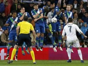 Classical hat rick against Wolfsburg; Cristiano Ronaldo reveals the secret