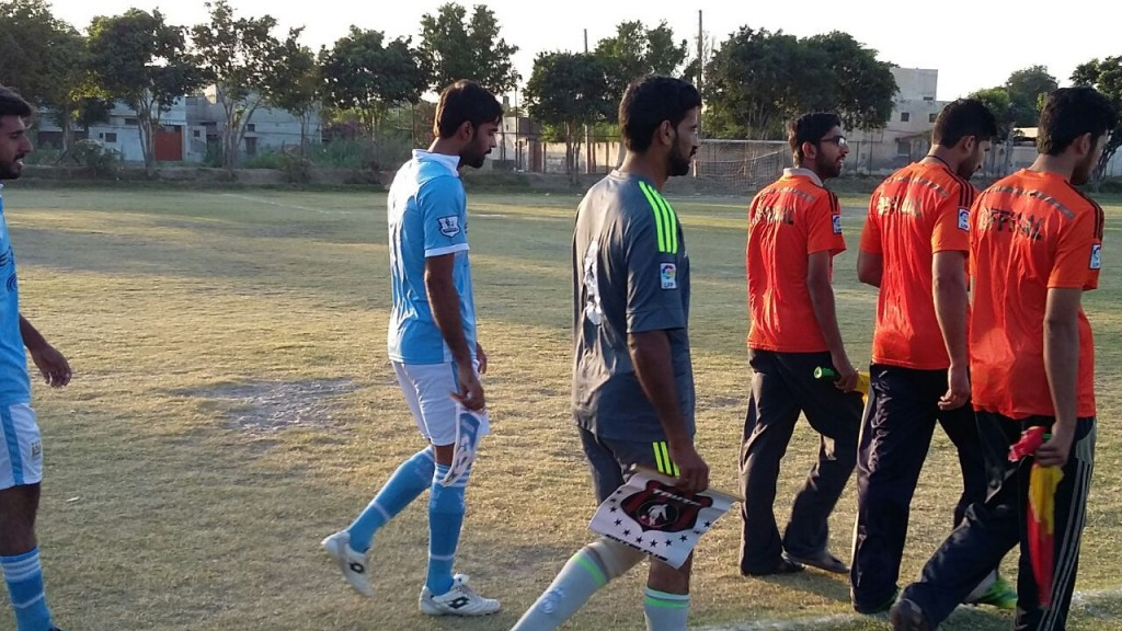 Fazal E Umar Soccer League; Tahir Soccer Club moves on top and Masroor FC moves out from bottom