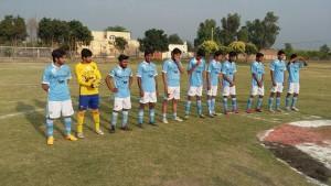 Fazal E Umar Soccer League; Ahmad FC beats Masroor FC 4-1