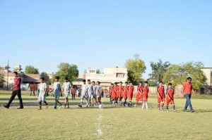 Fazal E Umar Soccer League; Umer FC beats Ahmad FC in the eliminator