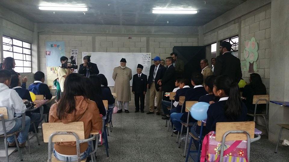 Ahmadiyya Muslim jamat Guatemala South America has built a charity schoAhmadiyya Muslim jamat Guatemala South America has built a charity school by Humanity Firstol by Humanity First