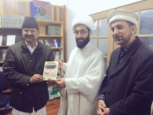 Shia Muslim leader, Shaikh Mohammad Tawhidi visited Ahmadiyya Muslim mosque in Beverley Australia