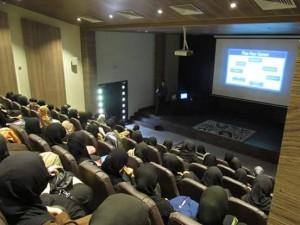 Nazarat Taleem Organized a career counseling seminar in Nusrat Jahan College