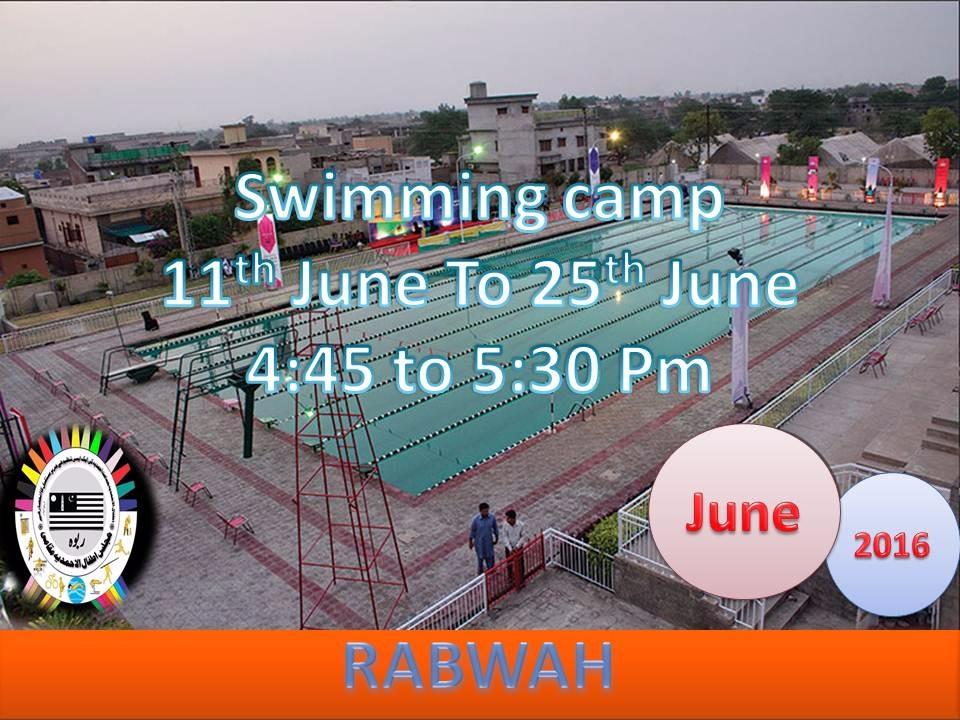 Majlis Khudam Ul Ahmadiyya Maqami organizing Swimming training Camp
