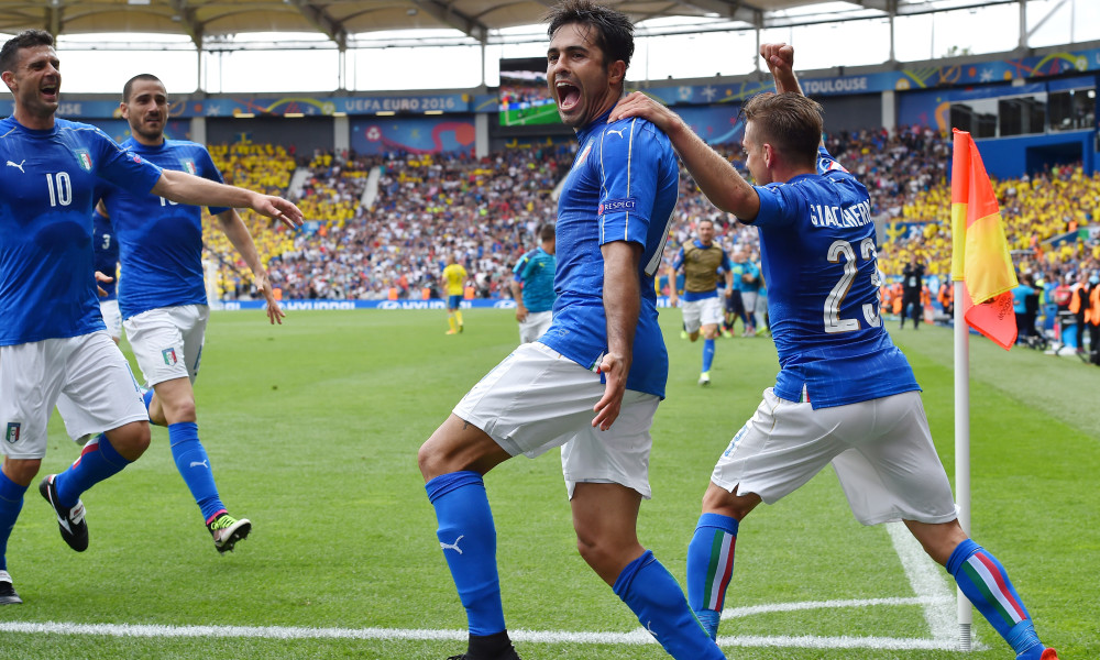 Italy beat Sweden by one goal to nil; Croatia drew 2-2 against Check Republic