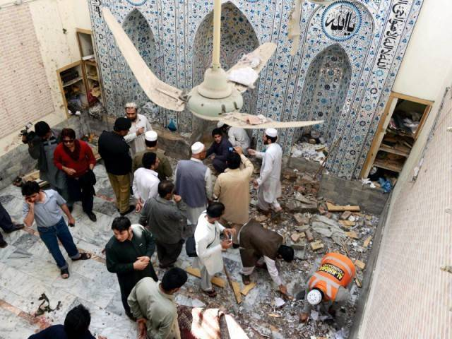 At least 16 killed in suicide blast at Mohmand Agency mosque