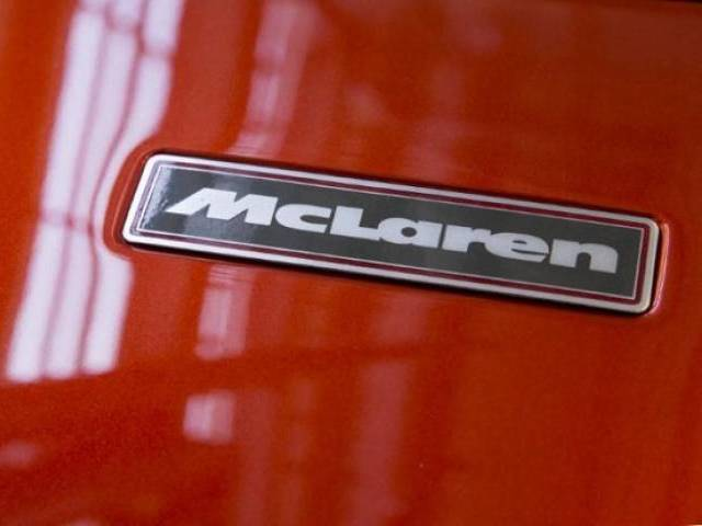 Supercar maker McLaren says not in discussion with Apple