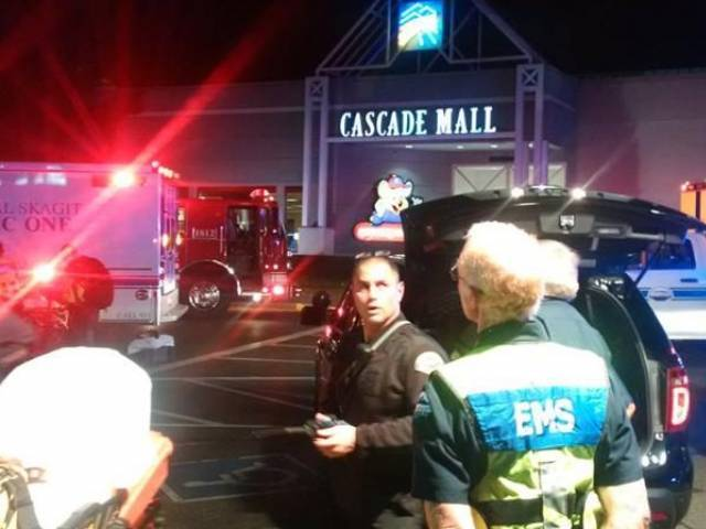 Three dead in shooting at mall in Washington state