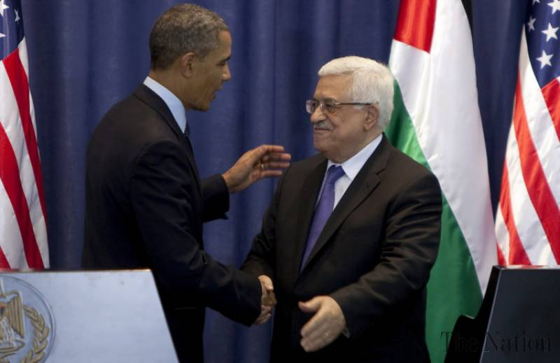 Obama urges Israel to end occupation, Palestinians to accept Israel