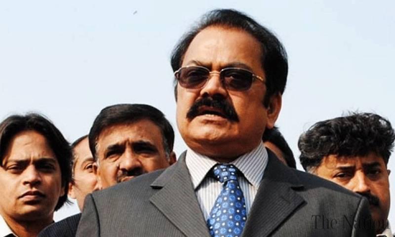 Rangers summoned in Punjab: Sanaullah