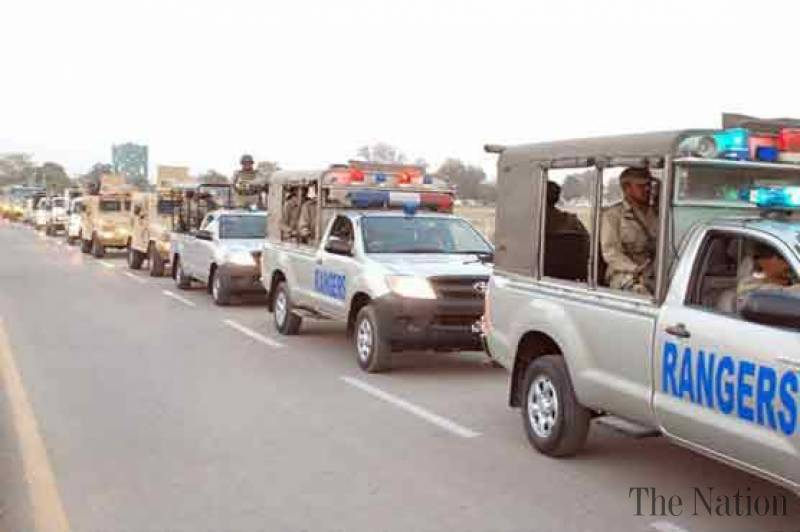 Rangers to ensure security across Punjab in Muharram