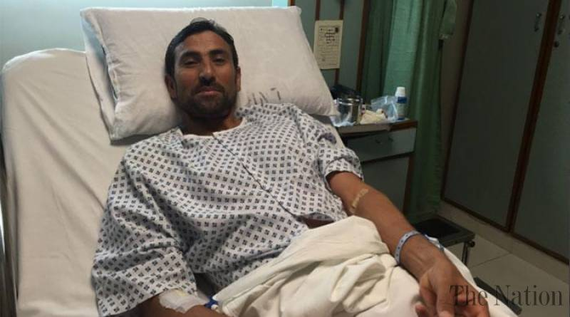 Younis Khan admitted to hospital due to high fever