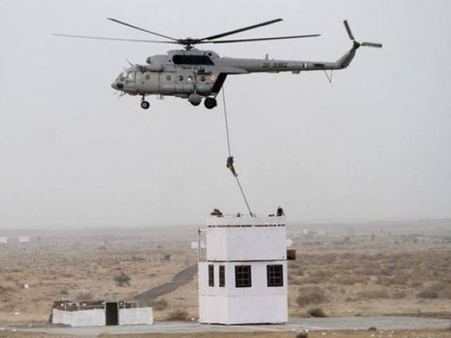 Backtracking: India says no helicopters used in 'surgical strikes'