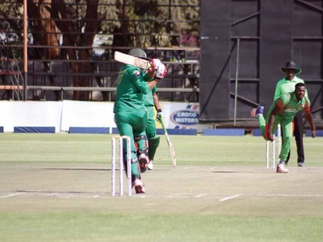 Series win: Pakistan A triumph by nine runs