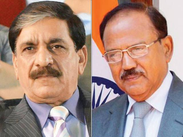 Janjua, Doval talk to dial down tension