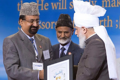 Canada: Qadian resident honoured at Ahmadiyya Annual Convention