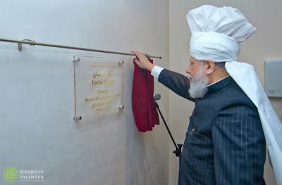 inaugurates the Baitul Ehsan Mosque